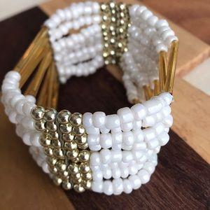Jewelry - Vintage beaded cuff